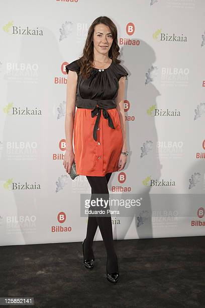 Ines Sainz attends 'Del Roble al Titanio' FITUR party on January 20 2011 in Madrid Spain