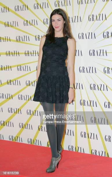 Ines Sainz attends Grazia Magazine launch party at Circo Price Theatre on February 12 2013 in Madrid Spain