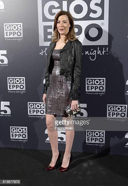 Ines Sainz attends the 'Gioseppo' 25th Anniversary Party at Callao Cinema on March 3 2016 in Madrid Spain
