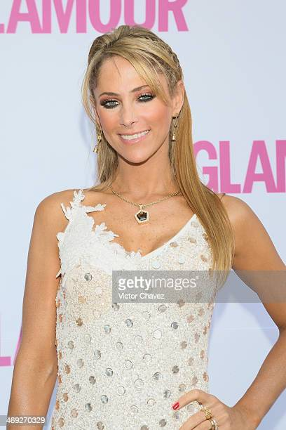 Ines Sainz attends the Glamour Magazine Mexico Beauty Awards 2013 at Museo Rufino Tamayo on February 13 2014 in Mexico City Mexico