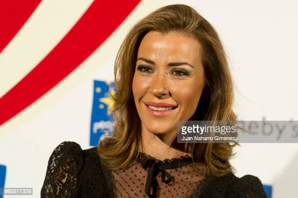 Ines Sainz attends 'VI Gala Subasta Solidaria' photocall at Teatro Bankia on October 23 2017 in Madrid Spain
