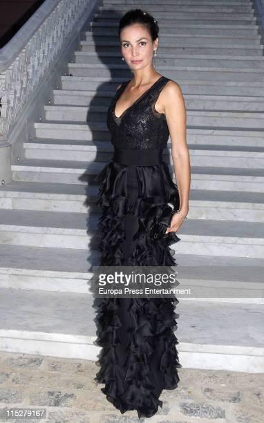 Ines Sastre attends 'Children For Peace' 2011 Gala at Villapadierna Hotel on June 4 2011 in Marbella Spain