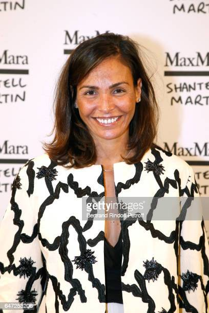 Ines Sastre attends the Max Mara 'Prism in Motion' Eventas with the presentation of the new collection Capsule of sunglasses Max Mara realized in...
