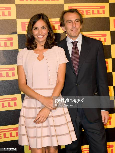 Ines Sastre attends the photocall for the 'Welcome to Formula 1' cocktail by Pirelli on May 19 2011 in Barcelona Spain