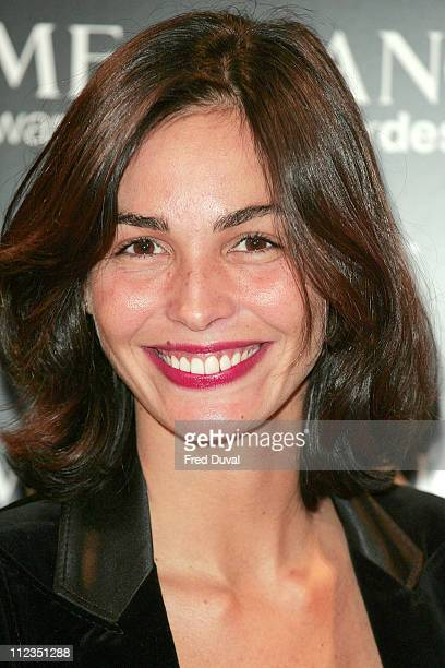 Ines Sastre during 2005 Lancome Colour Design Awards at Freemanson's Hall 60 Great Queen Street in London Great Britain