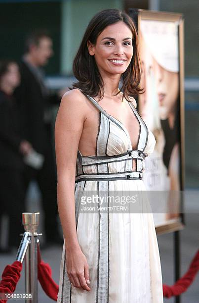Ines Sastre during The Lost City Los Angeles Premiere Arrivals at Arclight Cinemas in Hollywood California United States