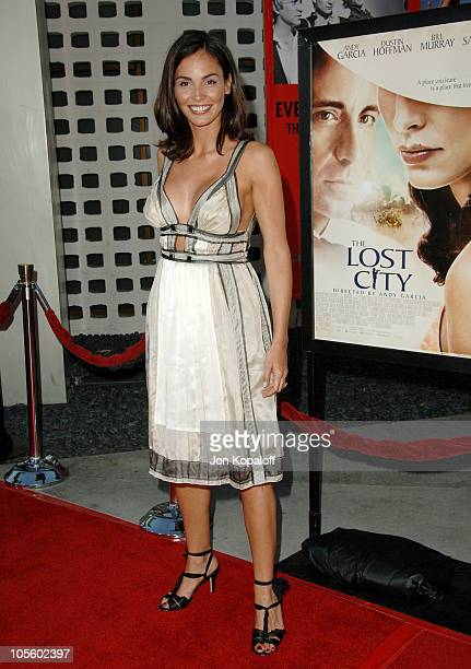 Ines Sastre during 'The Lost City' Los Angeles Premiere Arrivals at Arclight Cinemas in Hollywood California United States