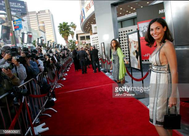 Ines Sastre during The Lost City Los Angeles Premiere Red Carpet at Cinerama Dome in Los Angeles California United States