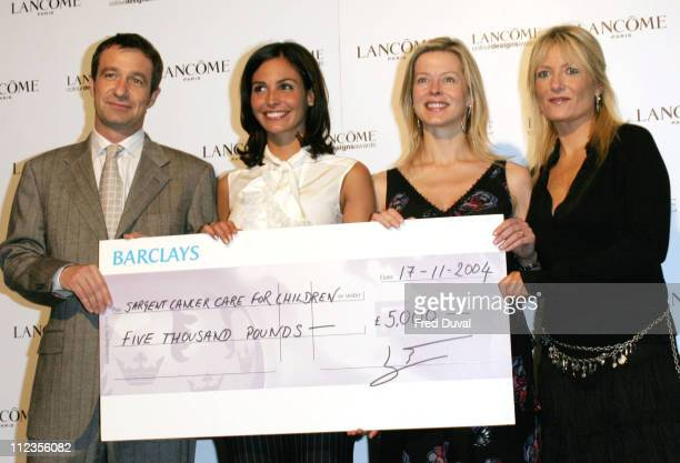 Ines Sastre, Lady Helen Taylor, Gaby Roslin and guest