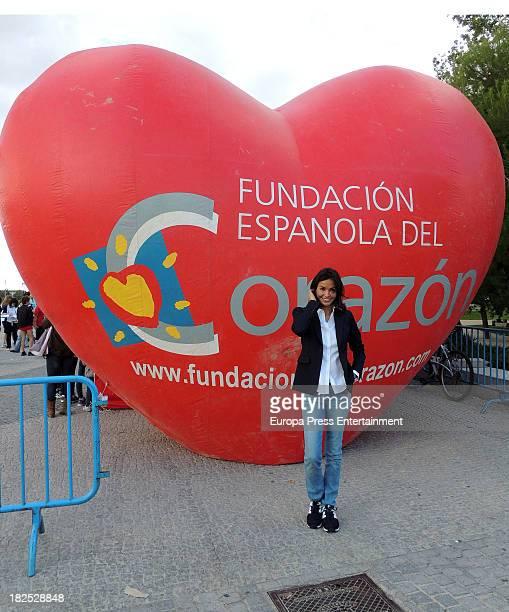 Ines Sastrea ttends run '2013 Hearst' on September 28 2013 in Madrid Spain