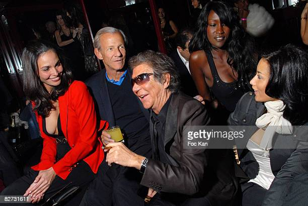Ines Sastres Peter Beard Roberto Cavalli Diariata and Teresa attend the Roberto Cavalli PFW Fall Winter 2008/09 Just Cavalli Shop Opening After Party...