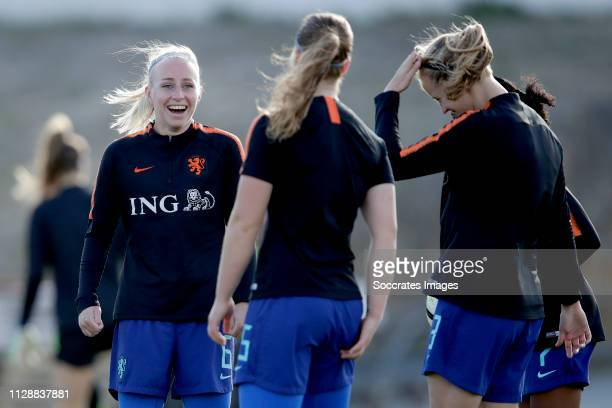 Inessa Kaagman of Holland Women during the Algarve Cup Women match between China PR v Holland at the Estadio Municipal de Albufeira on March 6, 2019...