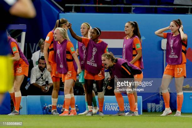 Inessa Kaagman of Holland Women Loes Geurts of Holland Women Lineth Beerensteyn of Holland Women Victoria Pelova of Holland Women Lieke Martens of...