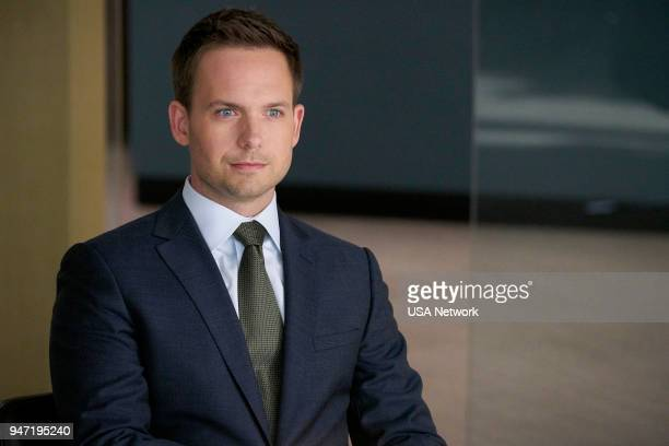 SUITS 'Inevitable' Episode 713 Pictured Patrick J Adams as Mike Ross