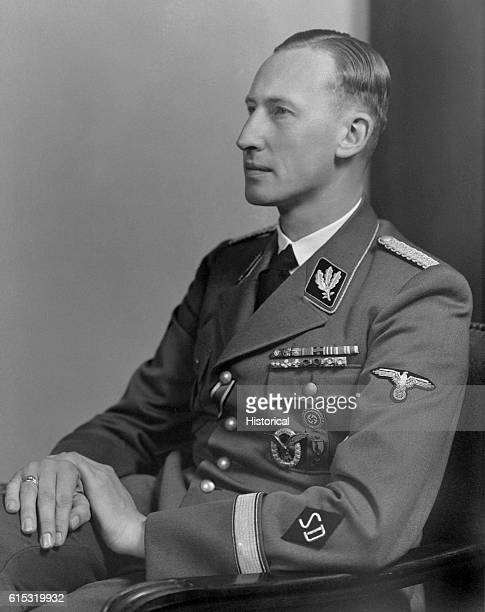 Infamous Nazi leader Reinhard Heydrich during his tenure as head of the Gestapo and SD.