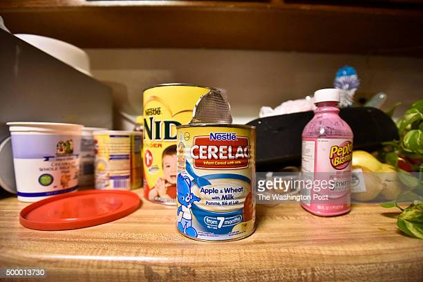 Infant formula in the kitchen of the San Bernardino shooting suspects' home Friday morning. Shooting suspect's home in Redlands photographed Friday...