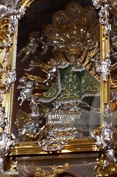 Infant Jesus of Prague altar at Our Lady of Victory Church Czech Republic