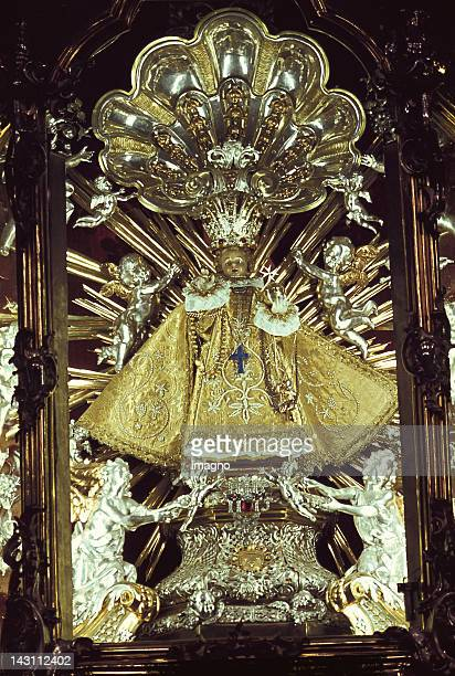 Infant Jesus of Prague Located in Church of Our Lady Victorious Prag Czech Republic Photograph Around 1999