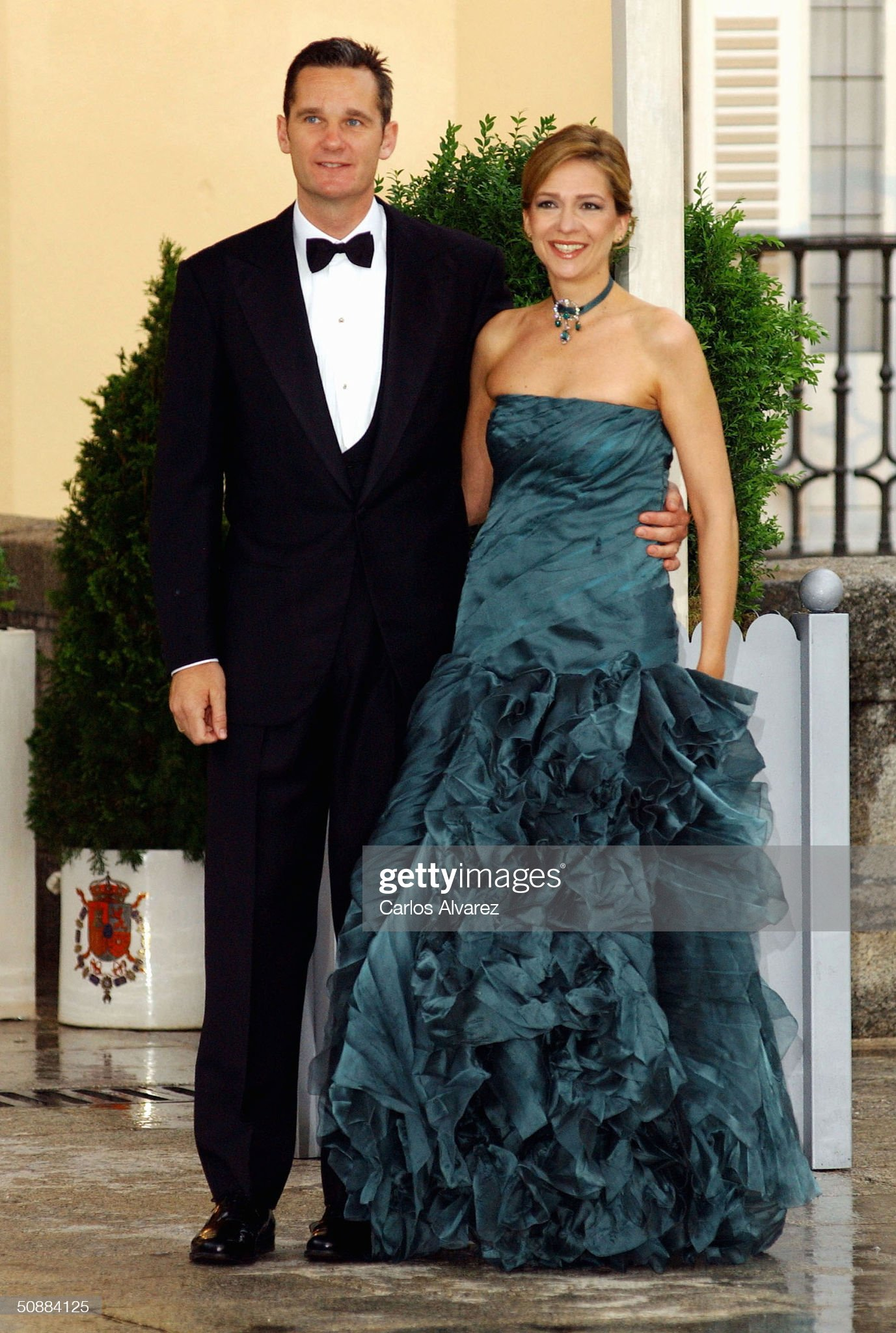 Gala Dinner at El Pardo Palace In Preparation For Royal Wedding : News Photo
