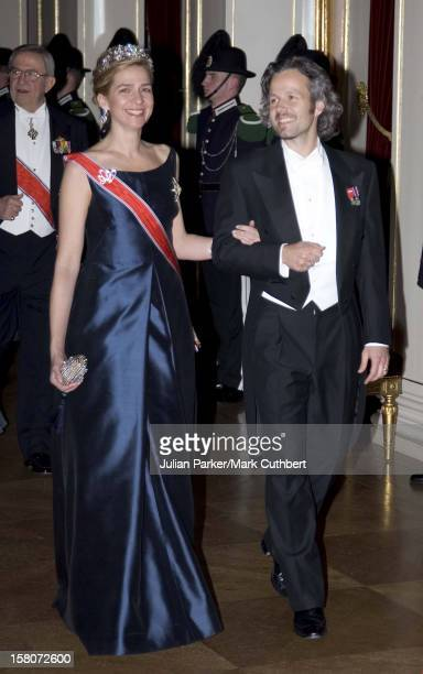 Infanta Cristina Of Spain Ari Behn Attend King Harald Of Norway'S 70Th Birthday Celebrations In OsloGala Dinner Dance At The Royal Palace