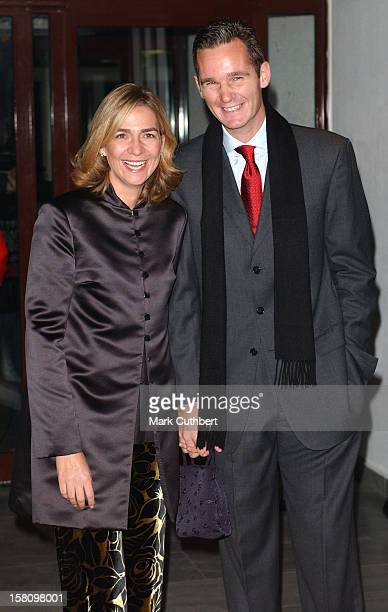 Infanta Cristina Of Spain Attends A Dinner At The Samokov Hotel On The Eve Of The Wedding Of Princess Kalina Of Bulgaria To Mr Kitin Munoz At...