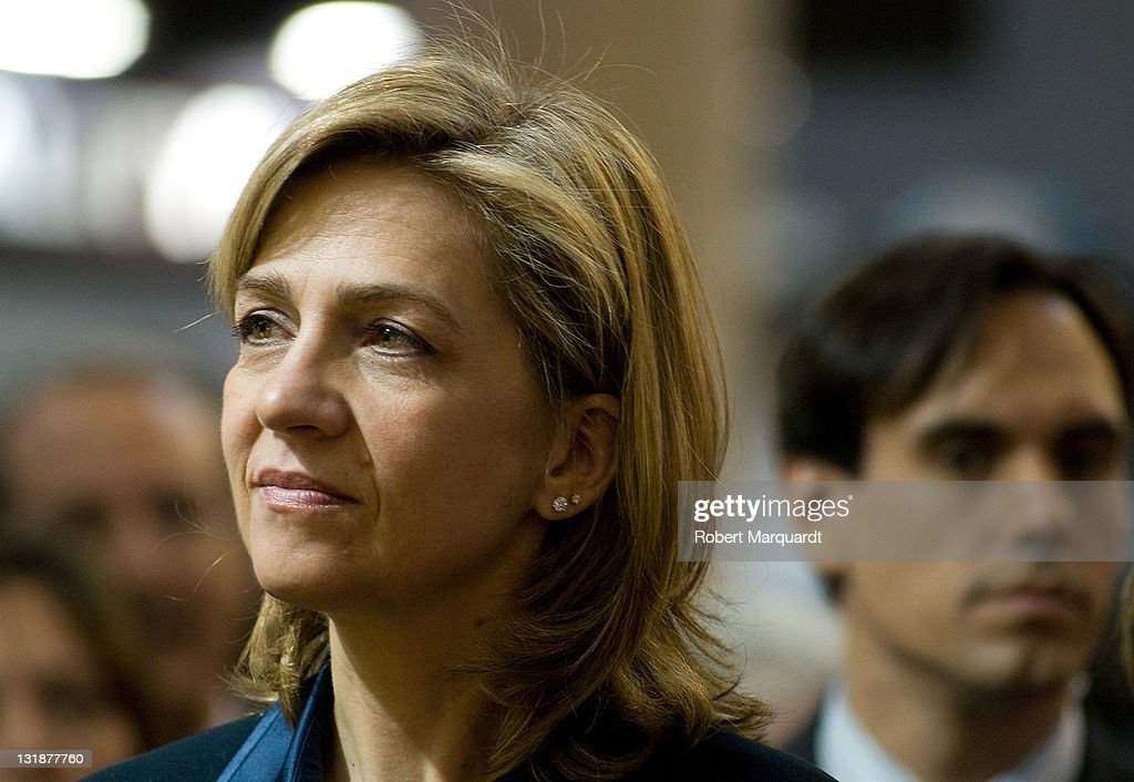 Princess Cristina of Spain Attends 'Graphispag' and 'Sonimagfoto and Multimedia' 2011 : News Photo