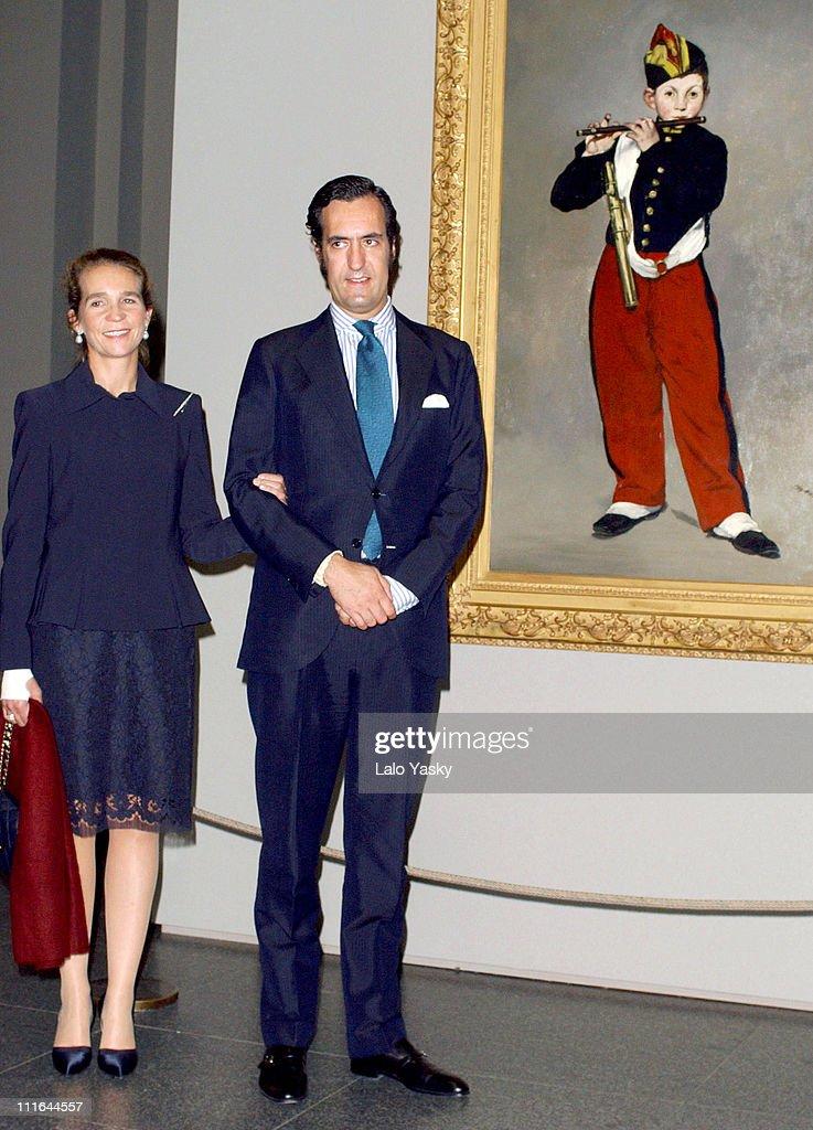 Exhibition of Eduard Manet Opens at Prado Museum - Madrid - October 13, 2003