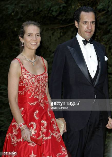 Infanta Elena Of Spain Huband Jaime De Marichalar Attend The Silver Wedding Anniversary Celebrations Of Grand Duke Henri Grand Duchess MariaTheresa...