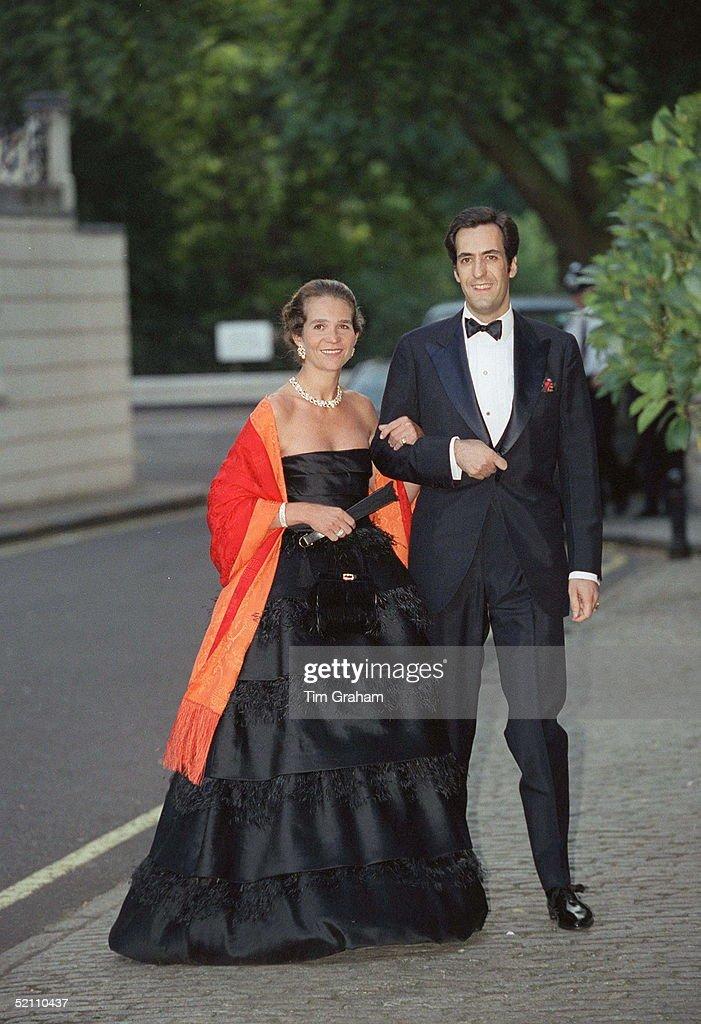 Princess Elena Of Spain And Jaime : News Photo