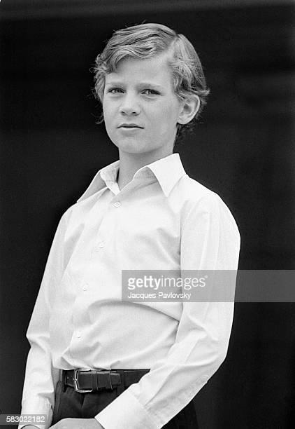 Infante Felipe of Spain, son of King Juan Carlos and Queen Sofia. | Location: Madrid, Spain.