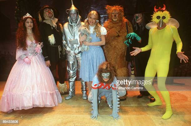 Infantile presentation of the musical one El Mago de Oz played by Leticia Sabater Infantile presentation of the musical one El Mago de Oz played by...