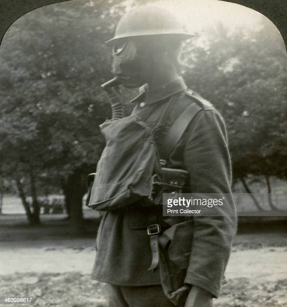 Infantry fitted with the latest gas marks and steel helmets World War I 19151918 The Germans were the first to make use of poison gas on the Western...