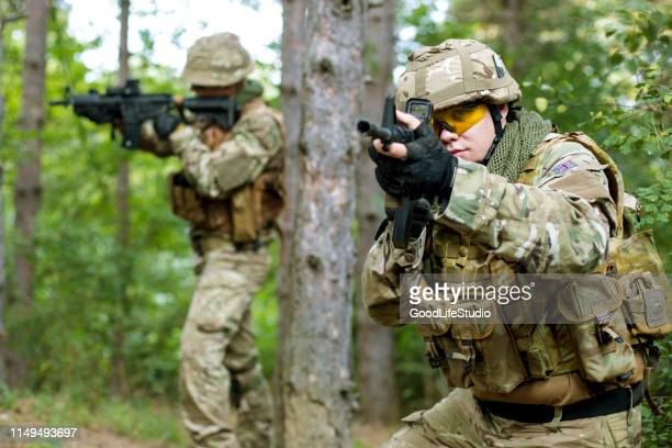 infantry - british military stock pictures, royalty-free photos & images