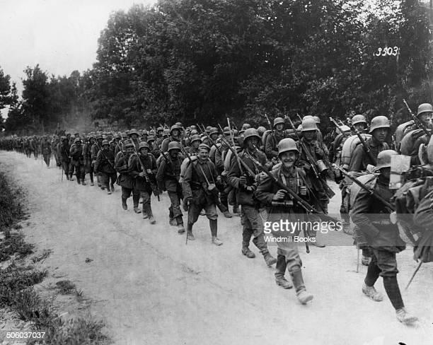 Infantry return from battle Somme 1917