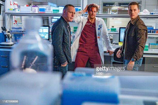 D Infection Part III Episode 707 Pictured Jason Beghe as Sgt Hank Voight Nick Gehlfuss as Dr Will Halstead Jesse Lee Soffer as Det Jay Halstead