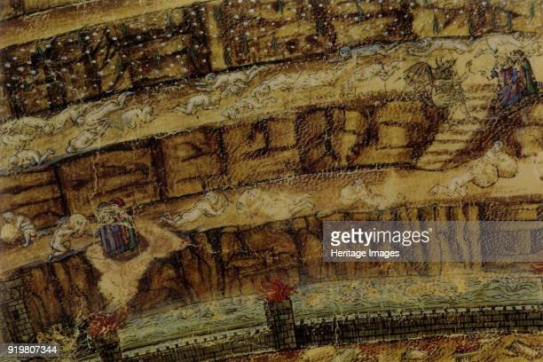 Inferno Illustration to the Divine Comedy by Dante Alighieri 14801490 Found in the collection of Biblioteca Apostolica Vaticana