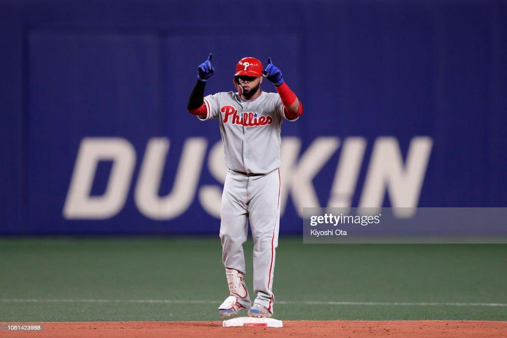 Japan v MLB All Stars  - Game 5 : News Photo