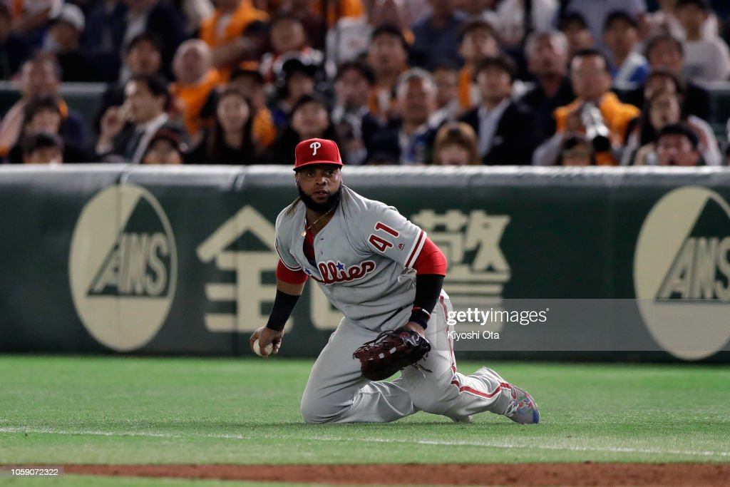 Yomiuri Giants v MLB All Stars : News Photo