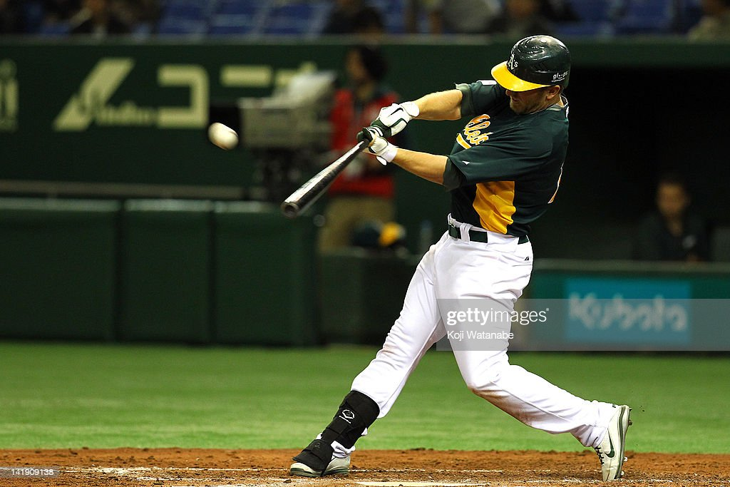 Oakland Athletics v Hanshin Ti...