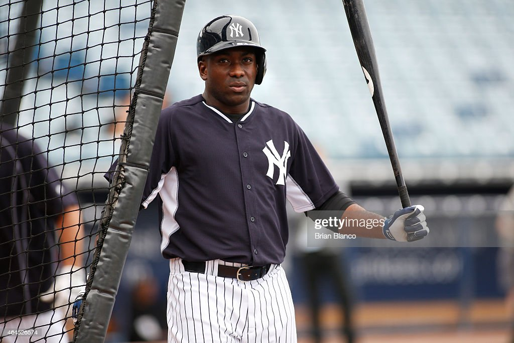 New York Yankees Workout : News Photo
