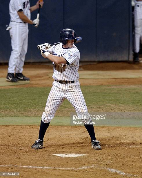 Infielder Justin Turner of the Cal State Fullerton Titans throws a pitch in against the Long Beach State Dirtbags in a 7 2 victory on May 20 2005 at...