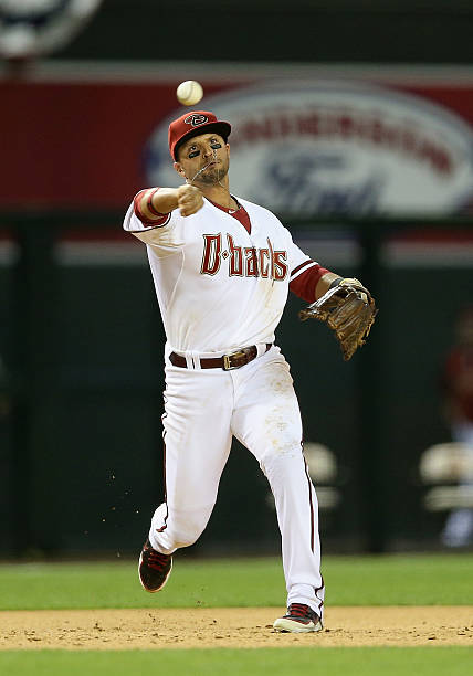 Infielder Martin Prado of the Arizona Diamondbacks...