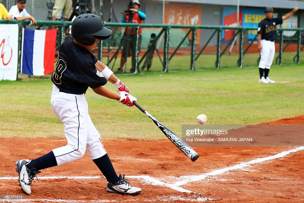 France v Japan - Opening Round - 2015 WBSC U-12 Baseball World Cup