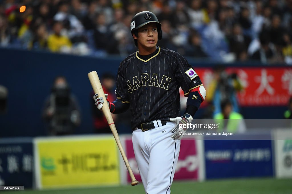 Japan v Hanshin Tigers - World Baseball Classic Warm-Up Game