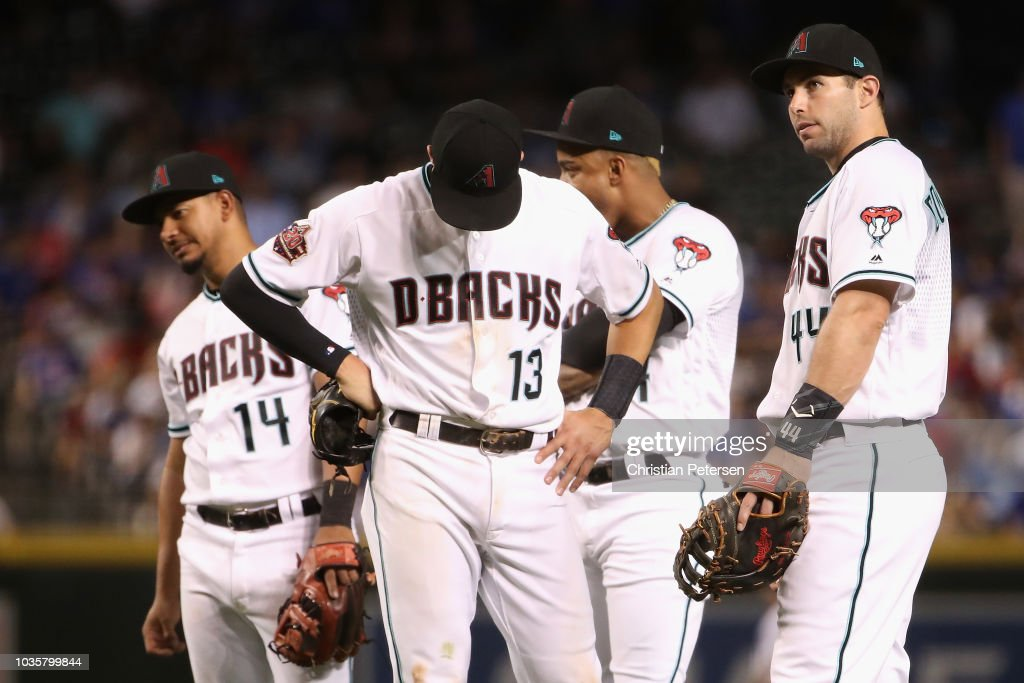 Chicago Cubs v Arizona Diamondbacks : News Photo