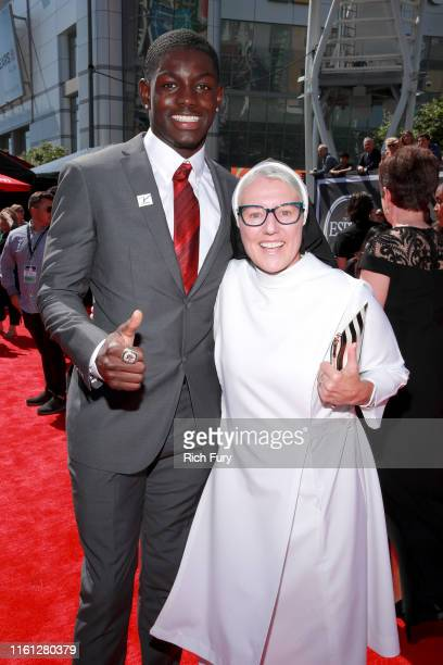 Infinite Tucker and Sister Mary Jo attend The 2019 ESPYs at Microsoft Theater on July 10 2019 in Los Angeles California