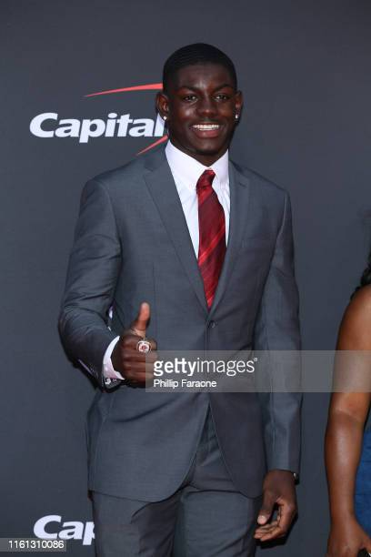 Infinite Tucker attends The 2019 ESPYs at Microsoft Theater on July 10 2019 in Los Angeles California