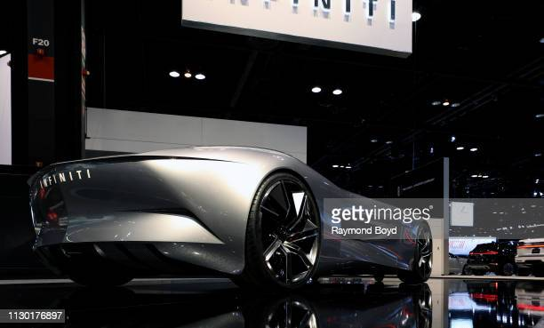 Infiniti 10 Concept is on display at the 111th Annual Chicago Auto Show at McCormick Place in Chicago, Illinois on February 7, 2019.