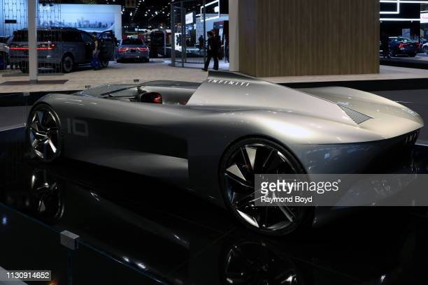 Infiniti 10 Concept is on display at the 111th Annual Chicago Auto Show at McCormick Place in Chicago Illinois on February 8 2019