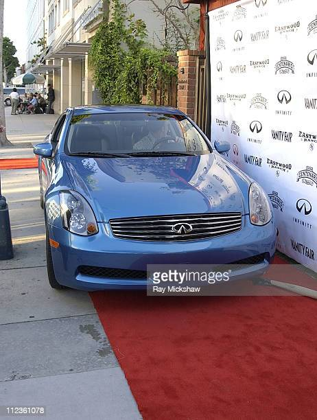 Infiniti car on the Red Carpet during Alison Eastwood celebrates launch of her new clothing line 'Eastwood Ranch' with Presenting Sponsors Vanity...